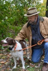 Terry Drinkwine and Dog 3
